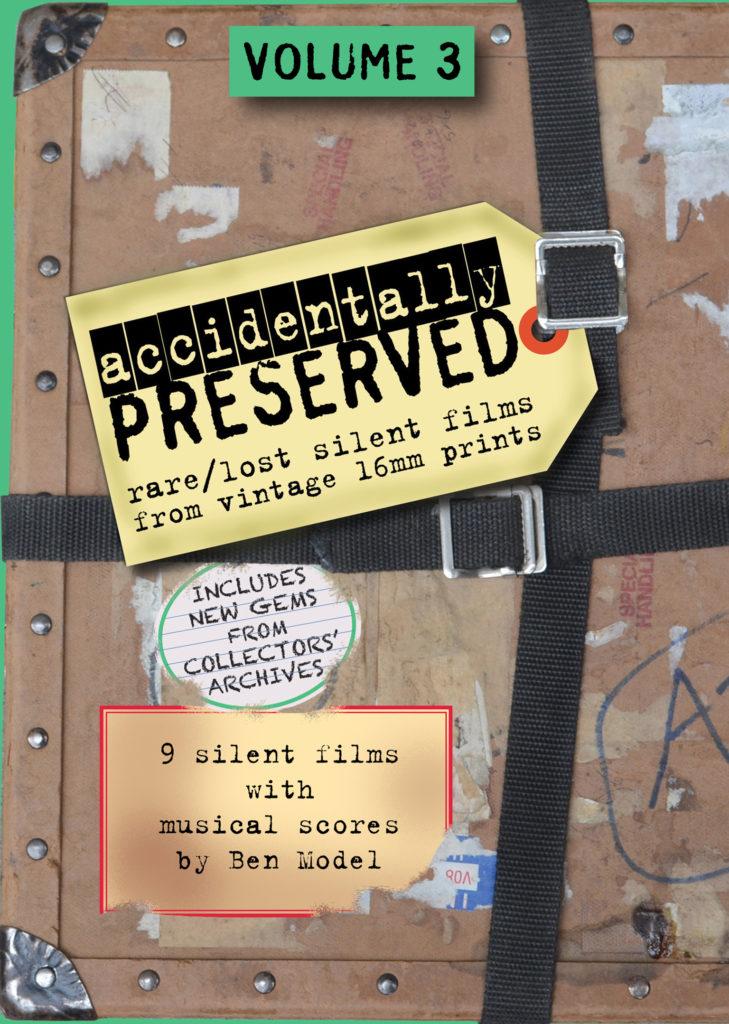 Accidentally Preserved Volume 3 DVD