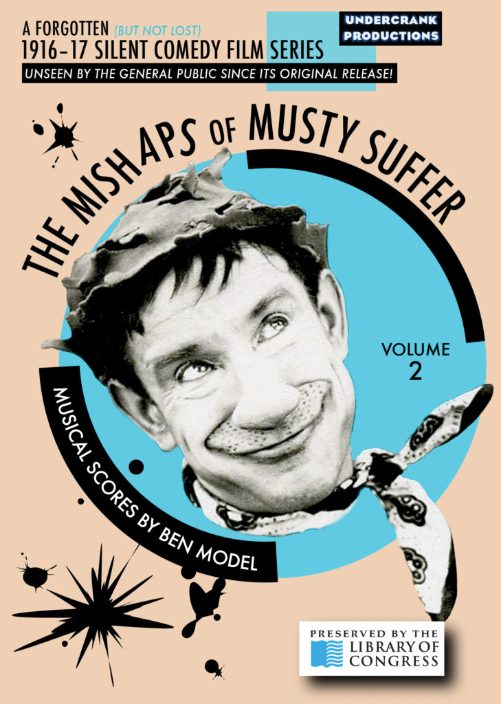 Mishaps of Musty Suffer Volume 2 DVD